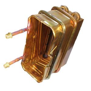 Медный или латунный теплообменник Уплотнения теплообменника КС 52 Таганрог